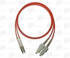 Leoni Fiber Optic Patch Cord 2M OM3 SC-LC